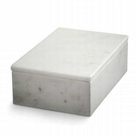 Marmor box med låg
