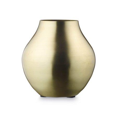 Vase i messing - H. Skjalm P