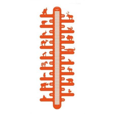 Højdemåler - Zoometer i orange