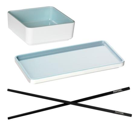 Sushi sæt - Pantone Canal Blue- 2 sæt