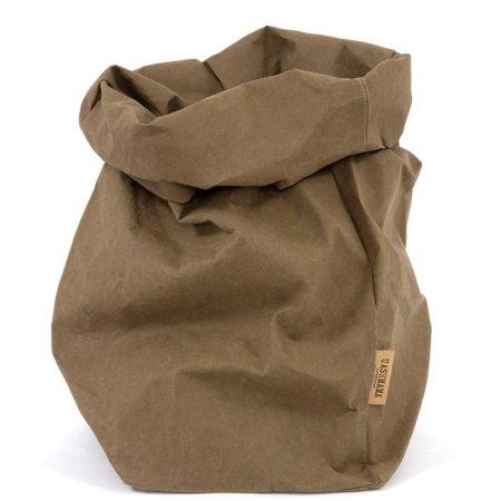 UASHMAMA Paper Bag - XL oliven