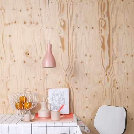 Nofoot loft lampe - pink