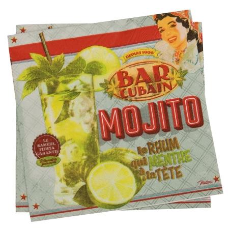 Servietter Mojito