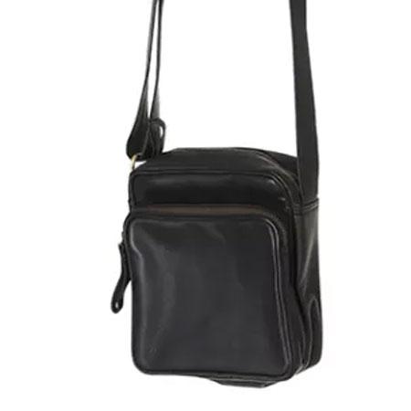 83a65ca7f65 Sort læder taske smart og praktisk taske i sort skind Encoded