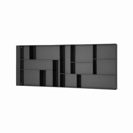 Sættekasse - sort akryl