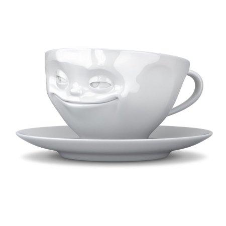Tassen kaffekop - grinende kop
