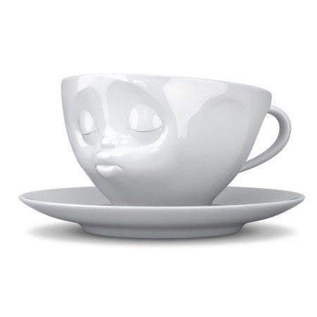 Tassen kaffekop - kyssende kop