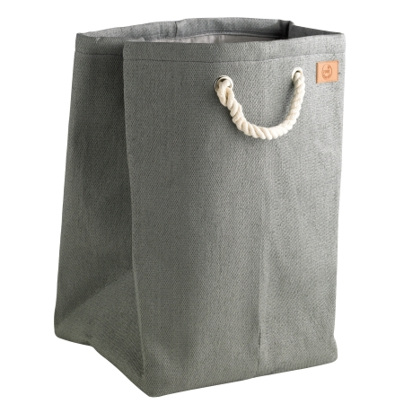Zone vasketøjskurv - grå